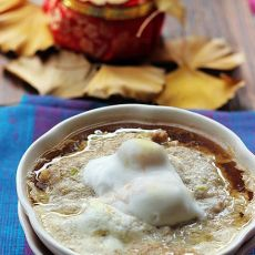 咸蛋蒸豆腐肉糜  懒人最爱快手菜的做法