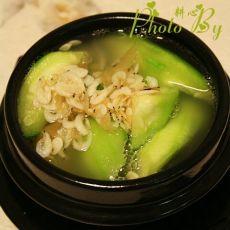 丝瓜虾皮汤