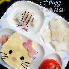肉泥豆腐KT猫套餐