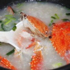 鲜甜虾蟹粥的做法