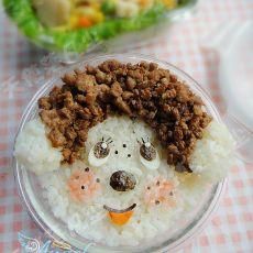蒙奇奇米饭的做法