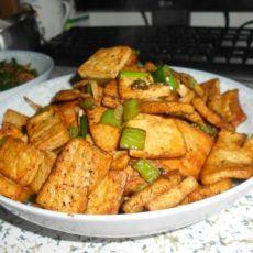 香煎老豆腐的做法