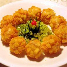 黄金土豆虾球的做法