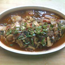 杏鲍菇红烧鱼的做法