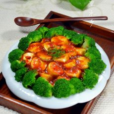 西兰花日本豆腐的做法