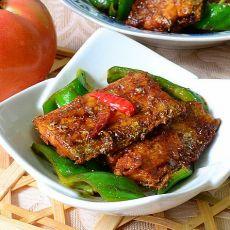 青椒烩带鱼的做法
