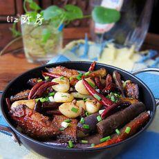 干锅茄子带鱼——蒜油的魅力的做法