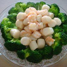海鲜西兰花