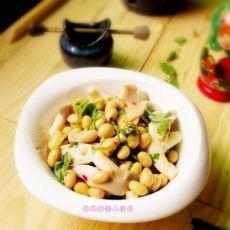 黄豆蘑菇沙拉