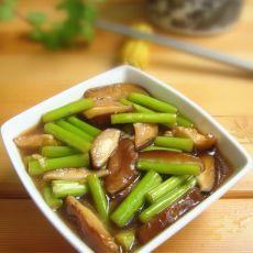 蚝油芦笋香菇的做法