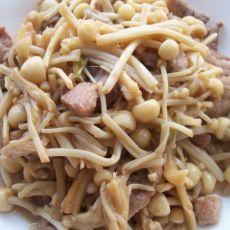 肉丝金针菇