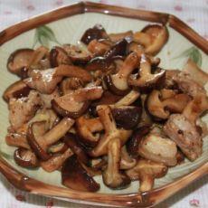 猪肉炒蘑菇