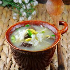 黄豆芽汤饭的做法