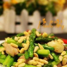 芦笋肉丝的做法