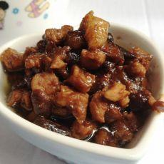 香菇肉酱的做法