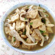 豆腐烧平菇的做法