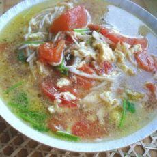 双菇蛋花汤的做法