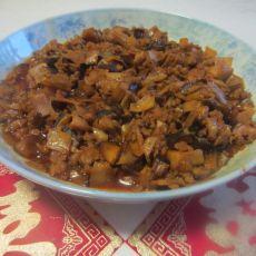 笋丁香菇猪肉酱