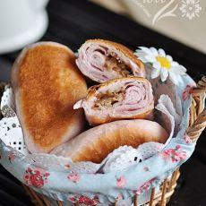 紫薯培根饼