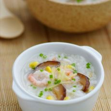 田园蔬菜海鲜粥的做法