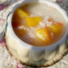 南瓜胡萝卜粥