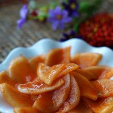 韩式腌甜辣萝卜片的做法