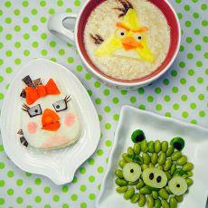 愤怒的小鸟早餐的做法