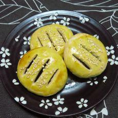 豆沙馅老婆饼