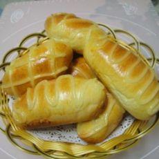 橄榄形小面包的做法