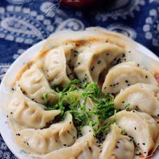 豆腐猪肉煎饺