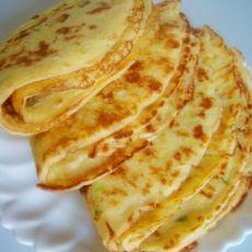 营养早餐--葱花鸡蛋饼的做法