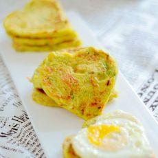 蔬菜薄饼煎蛋三明治