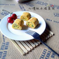香葱鸡蛋千层饼