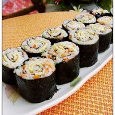 海苔炒饭卷的做法