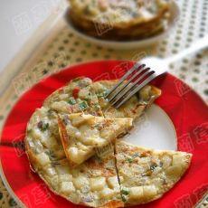 早餐之葱香土豆饼