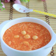胡萝卜汁糯米粥