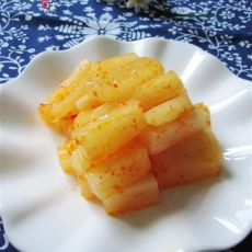 糖醋泡菜萝卜