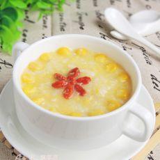 玉米蛋花粥的做法