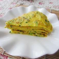黄瓜蛋饼――阳光早餐