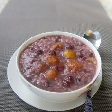 红豆栗子粥