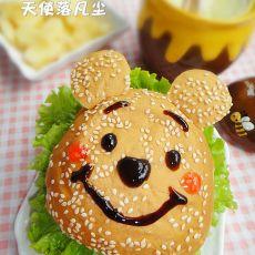 小熊维尼汉堡套餐的做法