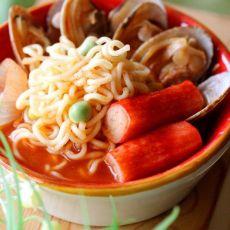 韩式海鲜泡面