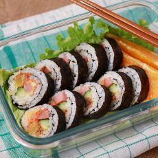 寿司便当的做法