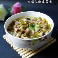 重庆酸菜肉丝米线的做法