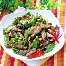 南昌人都爱吃的双椒小炒牛肉的做法