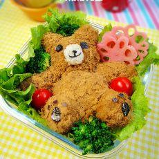 泰迪熊便当