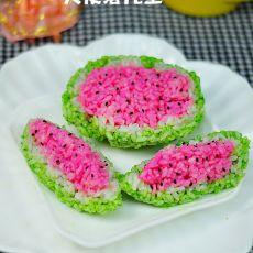 西瓜饭团的做法
