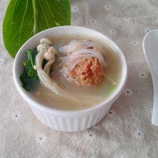 肉圆粉丝汤