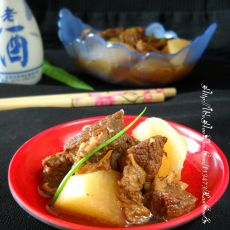 萝卜焖牛肉