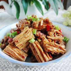 肉末剁椒腐竹